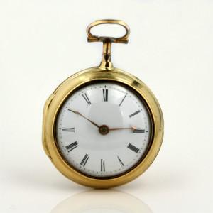 Pair case pocket watch made circa 1810