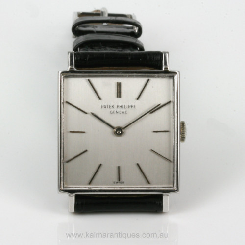 18ct white gold Patek Philippe 3430