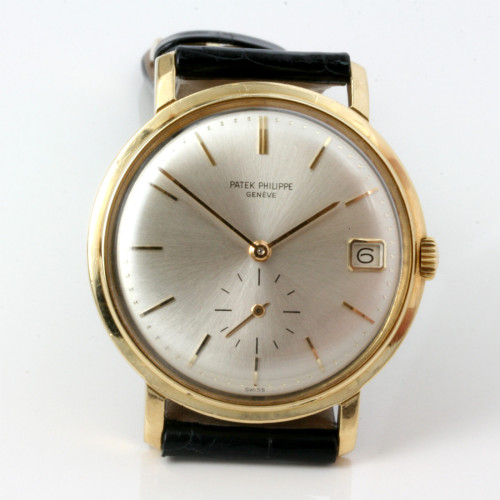 Automatic 18ct Patek Philippe watch.