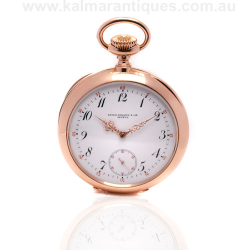 18ct gold antique Patek Philippe pocket watch