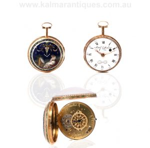 18th Century pocket watch by Patry & Chaudoir