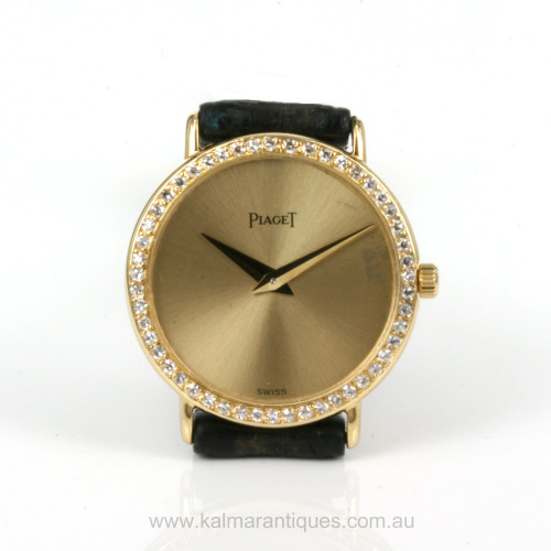 Piaget diamond set Altiplano calibre 20P2