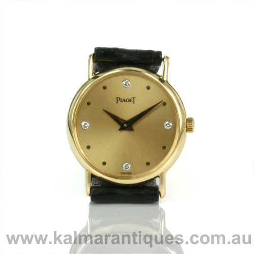 18ct Piaget watch 40559