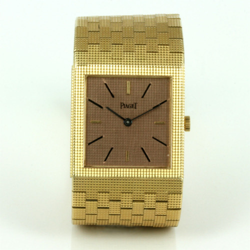Vintage 18ct Piaget watch in 18ct gold.
