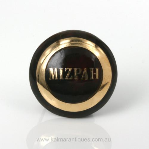 Antique pique Mizpah brooch