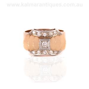 1950's Retro diamond ring
