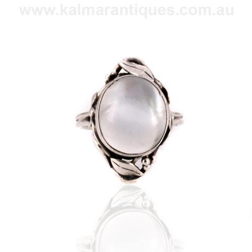 Rhoda Wager moonstone ring