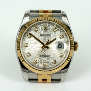 Rolex Datejust diamond Jubilee dial model 116233