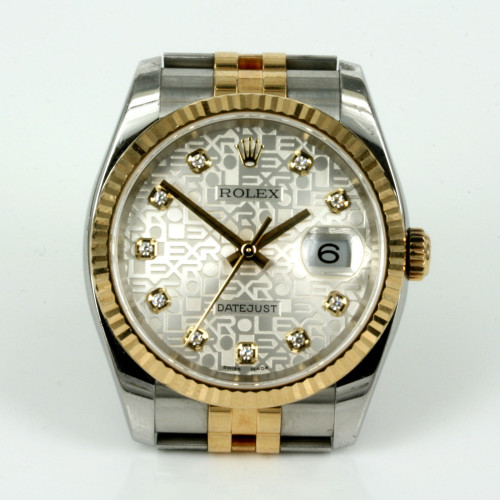 Rolex Datejust diamond Jubilee dial model 116233