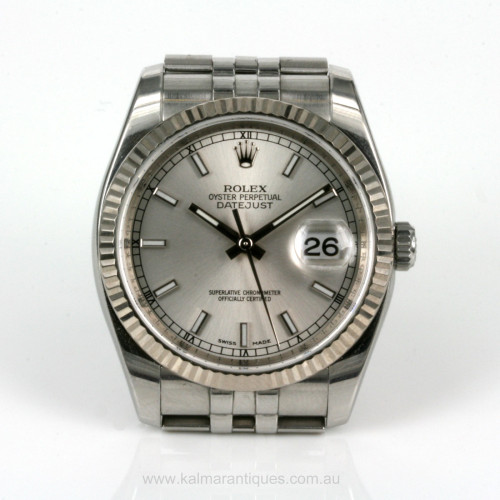 2007 gents Rolex Datejust model 116234