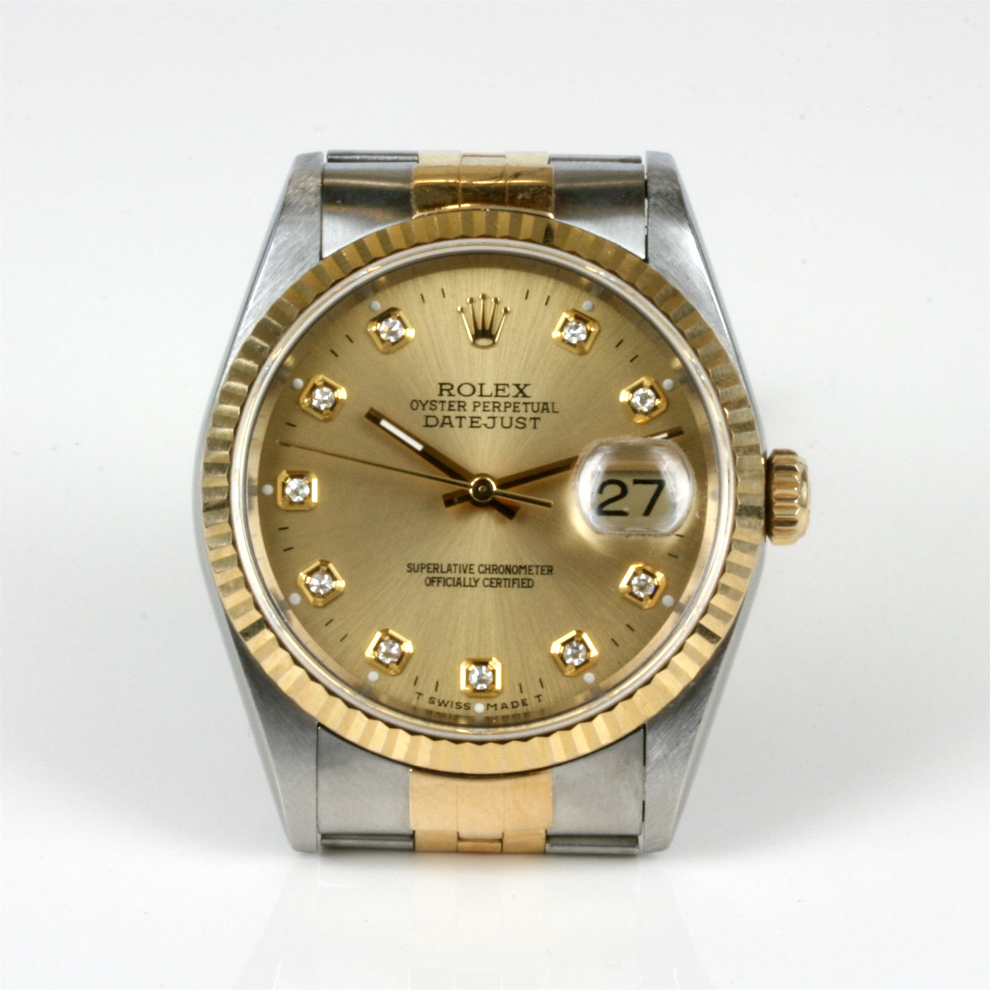 033eaf2e070fe ... Diamond dial Rolex Oyster Datejust.  Return to Previous Page. Bug Fix.  Previous  Next