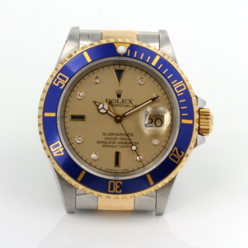 Sapphire and diamond dial Rolex Submariner