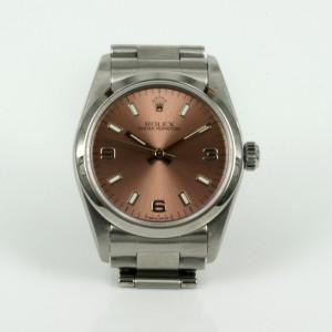 Salmon coloured dial Rolex model 67480