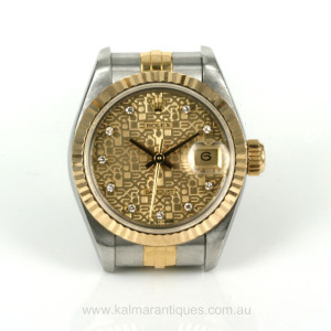 Rolex Datejust diamond jubilee dial model 69173