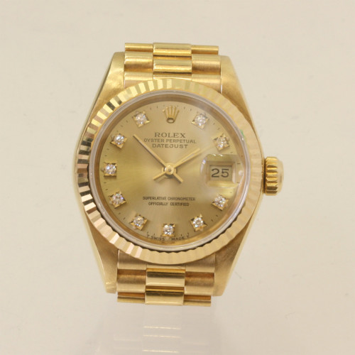 18ct Rolex diamond dial