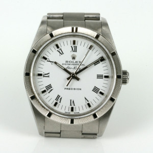 Rolex Air King model 14010m with Roman numerals