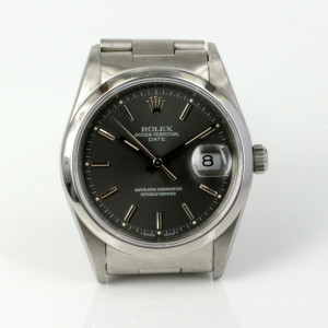 Grey dial Rolex Datejust model 15200