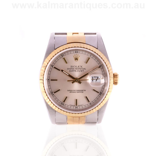 Rolex Datejust model 16233 with box and papers