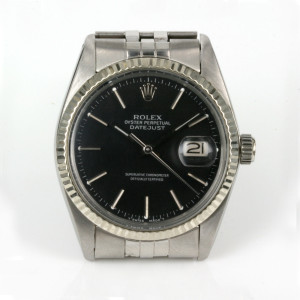 Rolex Datejust model 16014 from 1980.