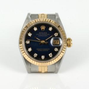 Ladies diamond dial Rolex Datejust model 69173g