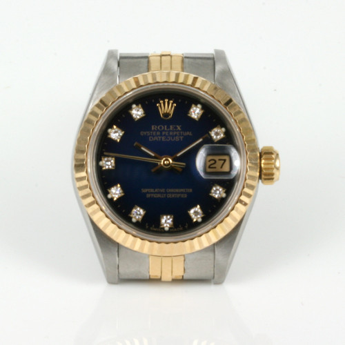 Ladies diamond dial Rolex Datejust model 69173g