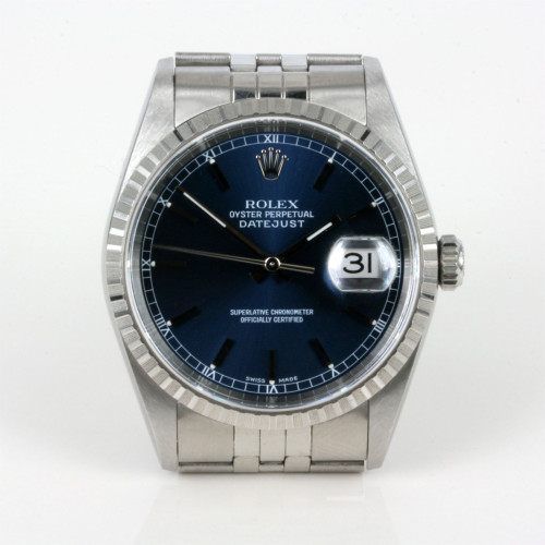 1999 gents Rolex Oyster Perpetual Datejust model 16220
