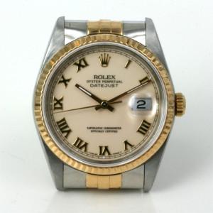 18ct & steel Rolex Datejust mdel 16233