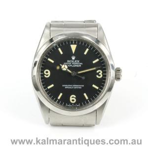 Rolex Explorer I 1016