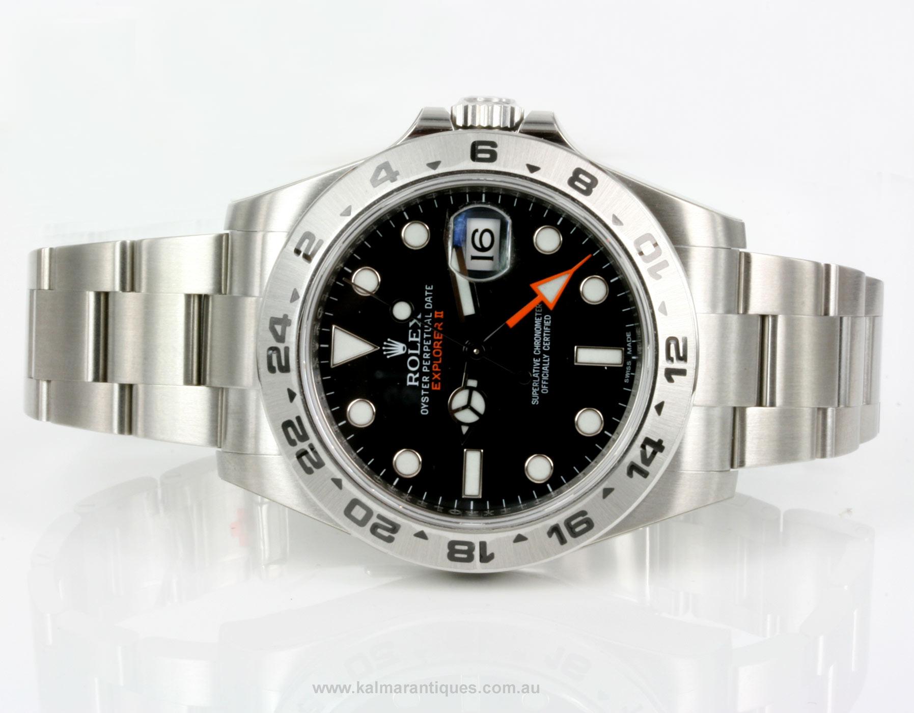 347ec7768a1 Buy Brand new 2013 Rolex Explorer II model 216570 Sold Items