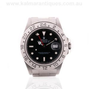Rolex Explorer II reference 16570. Rolex watch Sydney