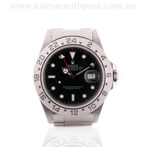 Rolex Explorer II reference 16570. Rolex watch Sydney