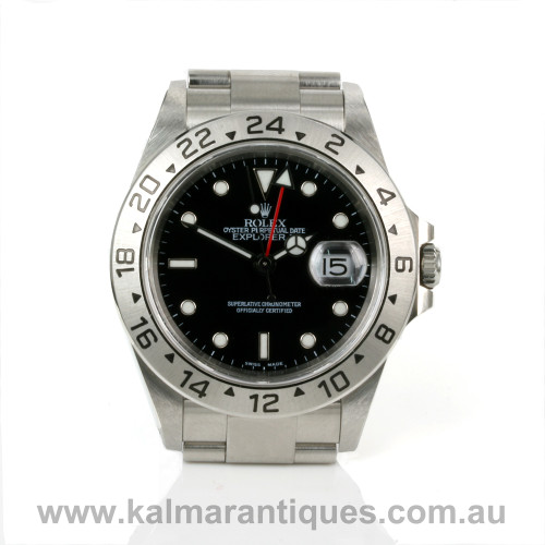 Rolex Explorer II 16570 with box and papers