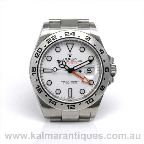 Rolex Explorer II reference 216570