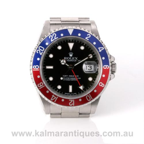 Rolex GMT Master I 16700 Pepsi Rolex GMT
