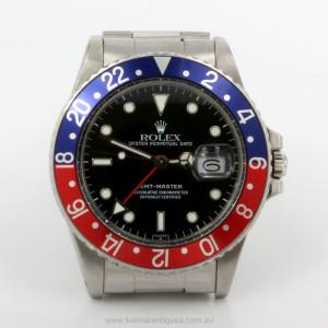 Rolex GMT Master I Pepsi transtion model 16750