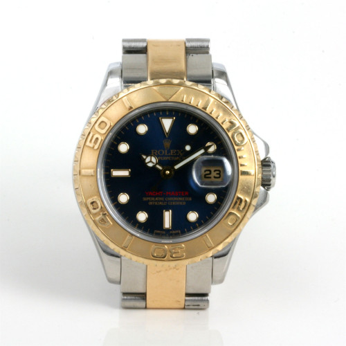 Blue dial lady's Rolex Yachtmaster model 169623