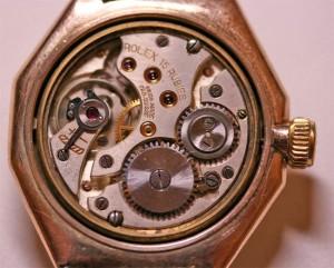 9ct Rolex Oyster watch