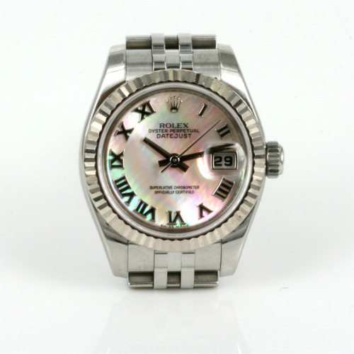 Mother of pearl Rolex Datejust model 179174.