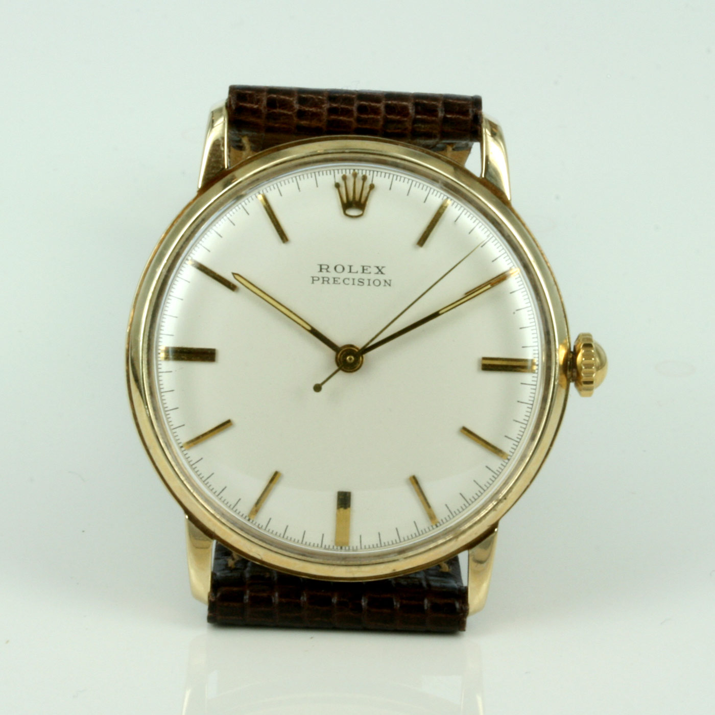 7bb9001e4aa Buy Vintage Rolex Presion watch in gold. Sold Items