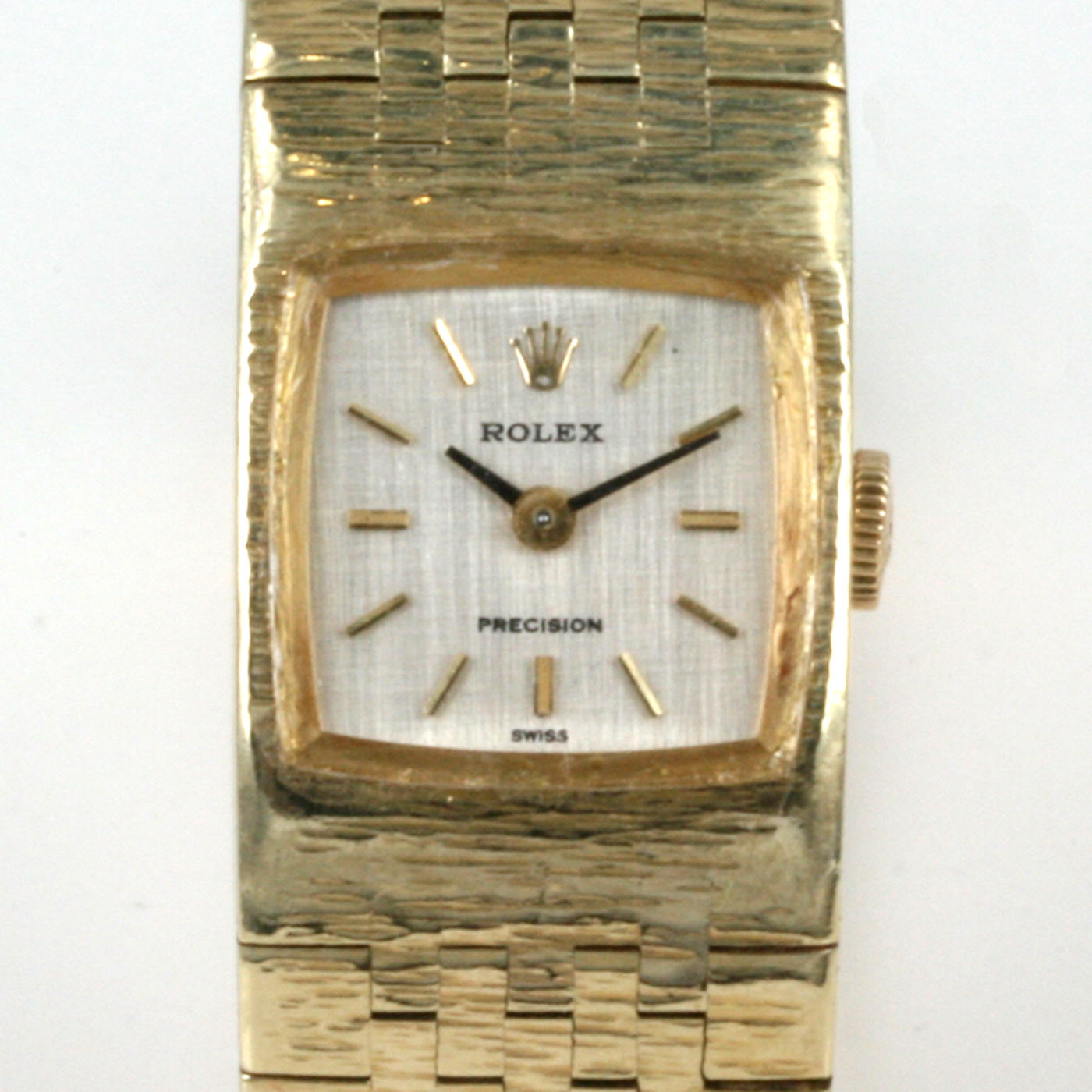 Buy 18ct Gold Ladies Rolex Precision Watch Sold Items