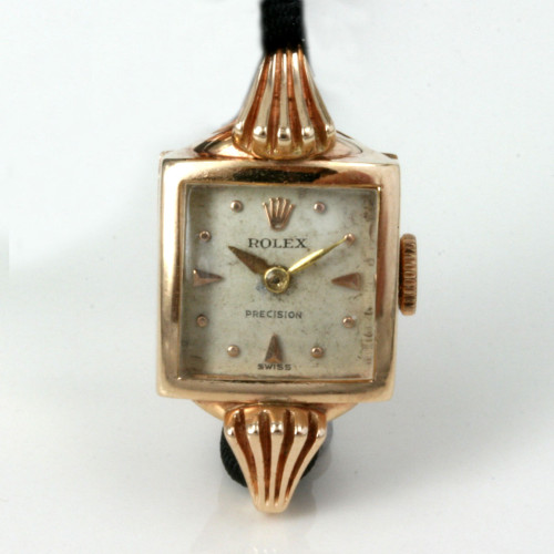 1937 fancy case lady's Rolex watch.