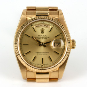 18ct Rolex President 18038 in superb condition.