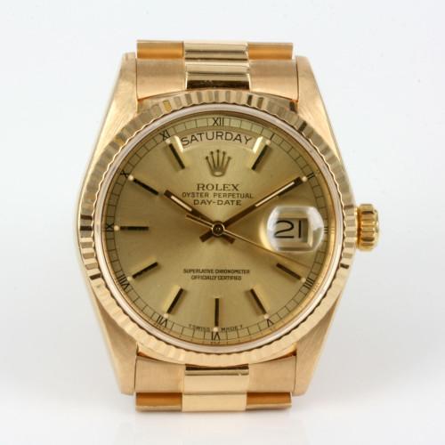 1987 18ct Rolex President model 18038
