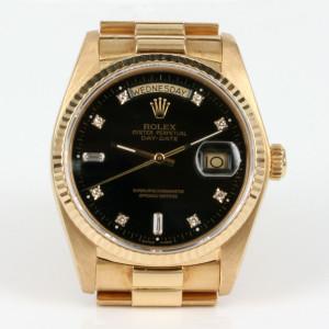 Diamond dial Rolex President model 18038g