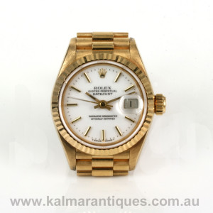 Rolex Datejust President reference 69178