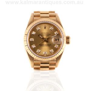 Rolex President diamond dial 69178