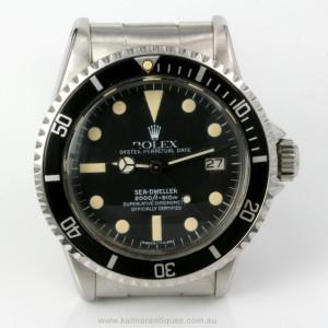 Rare 1974 vintage Rolex Sea Dweller model 1665