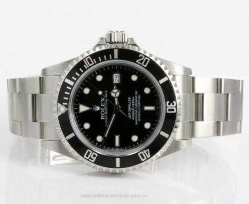 2007 Rolex Sea Dweller model 16600