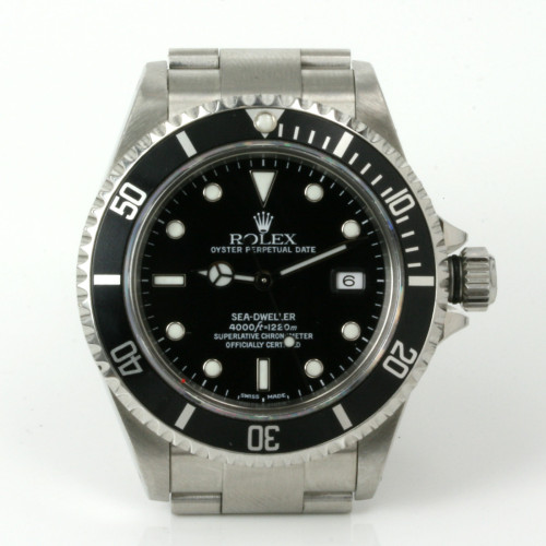Rolex SeaDweller model 16600 from 2003