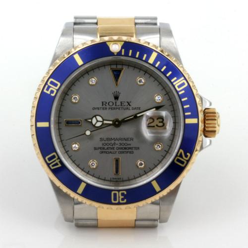 Rolex Submariner sapphire & diamond